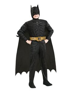 Spirit Halloween - This one has a muscle chest Batman The Dark Knight Muscle Chest Child Costume
