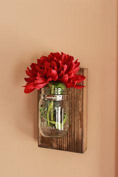 DIY Mason Jar Wall Decor