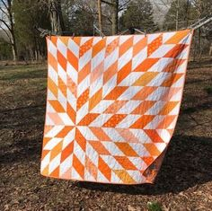 Hi, all! It's time for another quilt in the Stunning Stars Quilt Along - and this week's quilt is my husband's favorite! He laid claim to it before it was even finished, and there's no higher compli