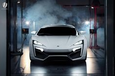 W Lykan Hypersport. World's Most Expensive Car $3.4 Mil. Choice Of What Color Rubies You Want On The Headlight
