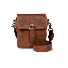 ONA Bond Street Antique Cognac Leather Messenger Bag | Harrison Cameras