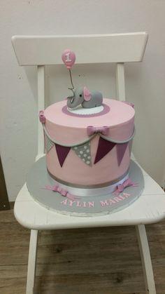 Torte 1.Geburtstag Mädchen rosa