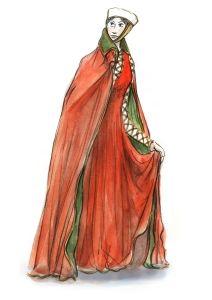 Dame 1250. Hochgotik | Die Gewand-Sammlung