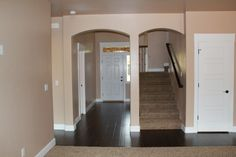 Arched walk ways through out our house, love them.  @cbhhomes