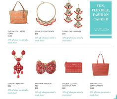 April Trunk Show Specials! Spend $50 get these gorgeous pieces for half off! www.stelladot.com/erica16