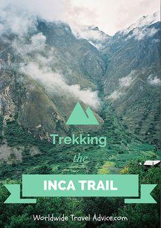 Trekking the Inca Trail to Machu Picchu – Peru! #Travel#Trekking#Peru#MachuPicchu
