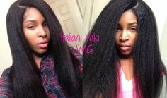Italian Yaki Silk Top Lace wig (classiclacewigs.com) I recently brought this unit and now looking how to tame it down