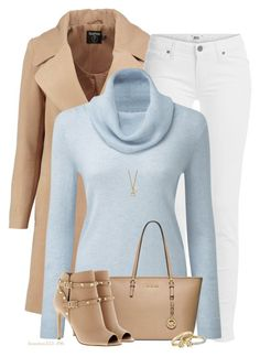 White Jeans for Winter by houston555-396 on Polyvore featuring polyvore, fashion, style, Boohoo, Paige Denim, Valentino, Michael Kors, Kenneth Cole, Alexis Bittar, Blue Nile, Gucci and clothing