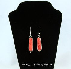 Great gift for a fan of the SF Giants. Time to celebrate there championship season with a wonderful pair of Spinney Oyster Earrings. This ITEM was Sold