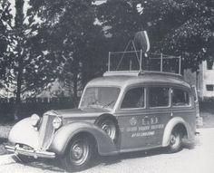 La radio e gli uomini della radio e le automobili dell'EIAR « Sezione ARI di Venezia-1940 artena