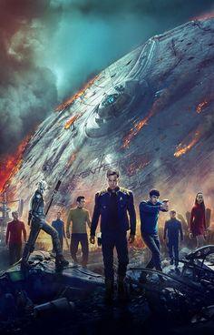 ArtStation - Star Trek: Beyond, Nate Hallinan Star Trek 2009, New Star Trek, Star Trek Tv, Star Trek Series, Star Wars, Star Trek Online, Playboy Tv, Battlestar Galactica, Spock