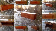 Teak Design Retro Skjenk Gustav Bahus Rastad & Relling Retro Furniture, Furniture Design, Teak, Cabinet, Home Decor, Clothes Stand, Decoration Home, Room Decor, Closet