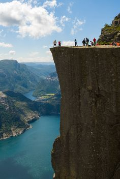 Preikestolen, the number 1 place I want to visit in Norway!