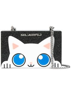 KARL LAGERFELD cat box cross-body bag. #karllagerfeld #bags # #