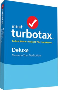 TurboTax Deluxe Coupon for 2016