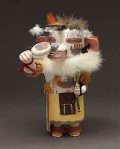White Bear Kachina Doll by Charles Chimerica (Hopi)