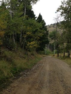 Montana back roads.