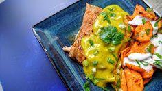 Kuchenne potyczki Alergiczki: Tajski pstrąg łososiowy z sosem mango
