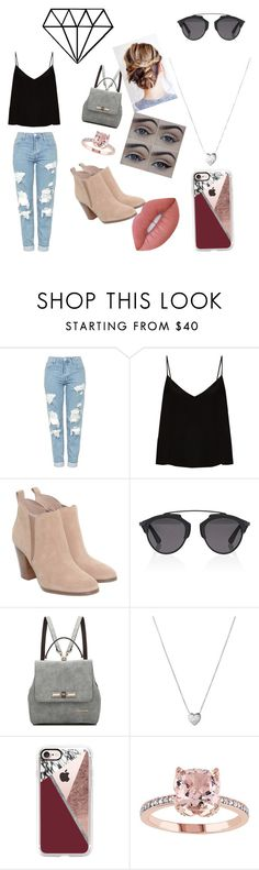 """Geen titel #29"" by jamillakin on Polyvore featuring mode, Topshop, Raey, Michael Kors, Christian Dior, Links of London, Casetify en Lime Crime"