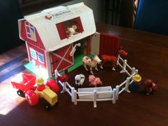 Fisher Price barn. I think I had the silo too.