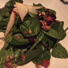 Dorsia Restaurant - Spinach and pear salad - Boca Raton, FL, United States