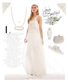 """""""Sumertime White"""" by blondemommy on Polyvore featuring IXIAH, Bling Jewelry, Carolee, Victoria's Secret, WithChic and Yellow Box"""