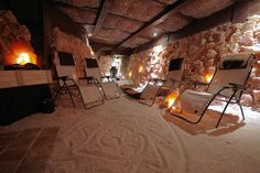 Asheville ~ NC Salt Cave, man-made salt cave, a peaceful retreat for therapeutic rest and healing. - See more at: http://www.romanticasheville.com/salt-cave#sthash.jW1L2nn7.dpuf`
