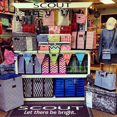 Embellish in Montgomery, AL is our fourteenth entry into the #scoutbags contest! Post pics of your creative & fun bag display for a chance to win a $250 CREDIT for your store! *Deadline 9/26