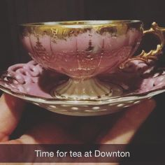 Tommie Ann Saragas: It's time for tea with my favorites at Downton Abbey. #Downton