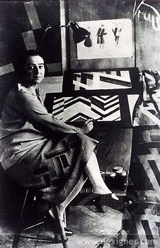 Born Sonia Terk in Russia, Delaunay moved to Paris as a young woman and remained there most of her life.