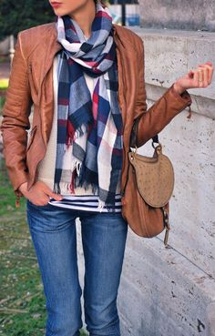 Scarf, Love the colors
