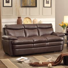 Sofas For Sale Eastman Leather Reclining Sofa