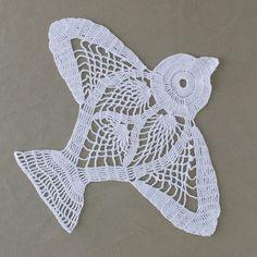 Lovebird Doily Crochet Pattern PDF by Maggiescrochet on Etsy