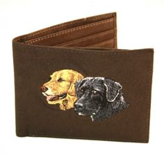 Bifold Wallet- Dogs (Brown) - American Expedition