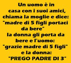 Tra moglie e marito… Child Smile, Funny Moments, Pranks, Haha, Funny Quotes, Told You So, Sayings, Comics, Words