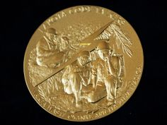 A Congressional Gold Medal honoring 25 Native American tribes for their dedication and valor as code talkers during World War I and II. Manuel Balce Ceneta, AP