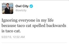 He focuses on the important things in life. | Community Post: 20 Reasons Owl City Is Basically Us