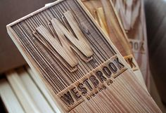 laseretching, from Westbrook Brewing Co branding by Fuzzco