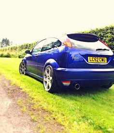 Ford Focus RS mk1 Imperial Blue