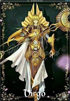 ¡Increibles FanArts! Los Caballeros de Athena version Final Fantasy - El Santuario de Athena