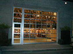 Glass garage door for garage conversion photo studio!