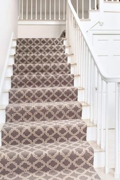 Choosing a stair runner - details to remember.