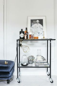 Interior decoration: side table