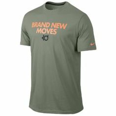 1c7550909452 Nike KD Brand New Moves T-Shirt - Men s - Mica Green Anthracite Nike. Nike  GearBasketball ...