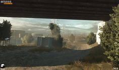 ArtStation - Battlefield Hardline - Derailed, Simon Barle