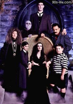 the 90s life - the Adams family