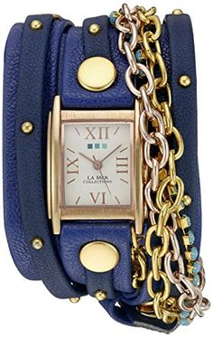 La Mer Collections Women's WANDERLUST00300 Analog Display Japanese Quartz Blue Watch La Mer Collections http://www.amazon.com/dp/B018QKJ8NA/ref=cm_sw_r_pi_dp_8QSIwb15G5WMC