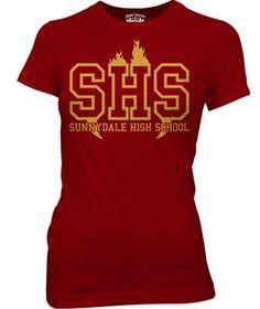 Sunnydale High School - Buffy Tee - Woman Fit
