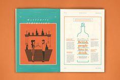 A Decent Magazine on Editorial Design Served