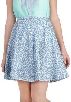Easy Growing Skirt | Mod Retro Vintage Skirts | ModCloth.com